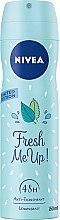 Парфюми, Парфюмерия, козметика Дезодорант - Nivea Fresh Me Up Deodorant