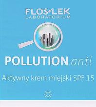 Парфюми, Парфюмерия, козметика Дневен крем за лице - Floslek Pollution Anti Active City Cream SPF 15