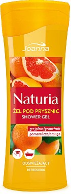 "Душ гел ""Грейпфрут и портокал"" - Joanna Naturia Grapefruit and Orange Shower Gel — снимка N3"