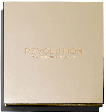 Палитра хайлайтъри - Makeup Revolution Face Quad — снимка N2