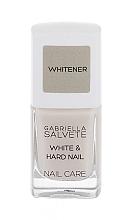Парфюмерия и Козметика Праймър за нокти - Gabriella Salvete Nail Care White & Hard