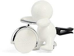 Парфюмерия и Козметика Mr&Mrs Fragrance Gino White Fresh Air - Ароматизатор за кола