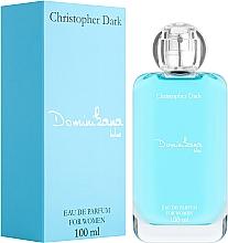Парфюмерия и Козметика Christopher Dark Dominikana Blue - Парфюмна вода