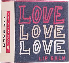 Парфюмерия и Козметика Балсам за устни - Bath House Love Love Love Citrus Fresh Lip Balm