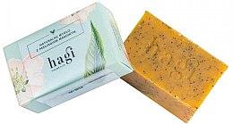 Парфюмерия и Козметика Натурален сапун с масло от облепиха и мак - Hagi Natural Soap