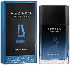 Парфюмерия и Козметика Azzaro Pour Homme Naughty Leather - Тоалетна вода