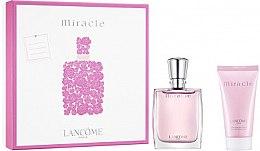 Парфюми, Парфюмерия, козметика Lancome Miracle - Комплект (парфюмна вода/30ml + лосион за тяло/50ml)