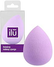 Парфюми, Парфюмерия, козметика Гъба за грим, лилава - Ilu Sponge Raindrop Purple