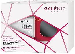 Парфюмерия и Козметика Комплект за лице - Galenic Diffuseur De Beaute (гел-крем/50ml + руж/5g + козм. чанта)
