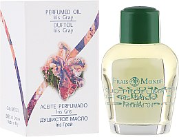 Парфюмерия и Козметика Парфюмно масло - Frais Monde Iris Gray Perfume Oil