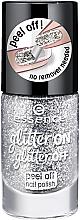 Парфюми, Парфюмерия, козметика Лак за нокти - Essence Glitter On Glitter Off Peel Off Nail Polish