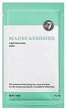 Парфюмерия и Козметика Маска за лице с екстракт от готу кола - Dewytree Madecassoside Melting Chou Mask