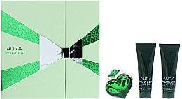 Парфюми, Парфюмерия, козметика Mugler Aura Mugler - Комплект (edp/30ml + b/lot/50ml + sh/gel/50ml)