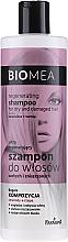 Парфюмерия и Козметика Възстановяващ шампоан за суха и увредена коса - Farmona Biomea Regenerating Shampoo