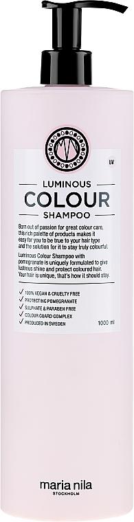 Шампоан за боядисана коса - Maria Nila Luminous Color Shampoo — снимка N5