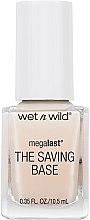 Парфюми, Парфюмерия, козметика Основа и топ лак - Wet N Wild Megalast Fortifying The Saving Base Coat