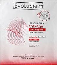 Парфюмерия и Козметика Антистраееща маска за лице - Evoluderm Anti-Age Sheet Mask