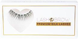 Парфюми, Парфюмерия, козметика Изкуствени мигли - Lash Brow Premium Silk Lashes Natural Mess