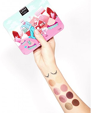Палитра сенки за очи - Nyx Professional Makeup Whipped Wonderland Shadow Set — снимка N3
