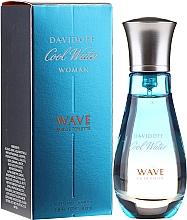 Парфюмерия и Козметика Davidoff Cool Water Wave Woman 2018 - Тоалетна вода