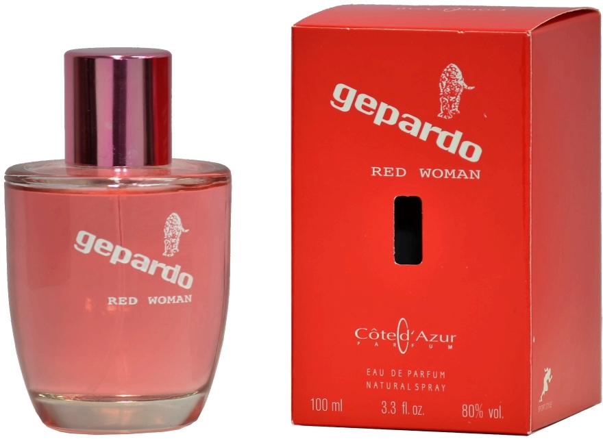 Cote d`Azur Gepardo Red Women - Парфюмна вода
