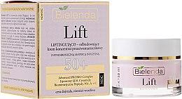 Парфюми, Парфюмерия, козметика Нощен възстановяващ лифтинг крем против бръчки 50+ - Bielenda Lift Lifting Repairing Anti-wrinkle Night Cream