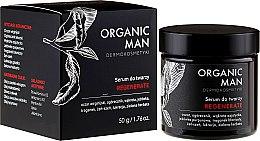 Парфюми, Парфюмерия, козметика Възстановяващ серум за лице за мъже - Organic Life Dermocosmetics Man