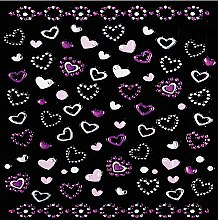 Парфюми, Парфюмерия, козметика Декориращи лепенки за нокти - Peggy Sage Decorative Nail Stickers Pink Line (1бр)