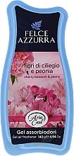 Парфюмерия и Козметика Освежител за въздух - Felce Azzurra Gel Air Freshener Sweet Harmony Talc & Cherry