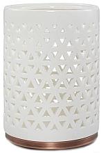 Парфюмерия и Козметика Свещник - Yankee Candle Belmont Lattice Ceramic Jar Candle Holder