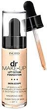 Парфюми, Парфюмерия, козметика Фон дьо тен с лифтинг серум - Ingrid Cosmetics Lift Serum Foundation SPF8