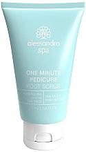 Парфюмерия и Козметика Скраб за крака - Alessandro International Spa One Minute Pedicure Foot Scrub