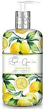 Парфюмерия и Козметика Течен сапун за ръце с лимон и босилек - Baylis & Harding