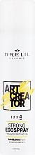 Парфюмерия и Козметика Еко спрей за коса със силна фиксация - Brelil Art Creator Strong Ecospray