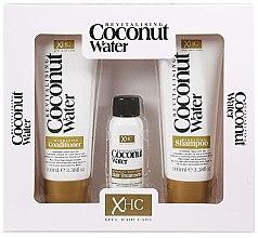 Парфюмерия и Козметика Комплект - Xpel Marketing Ltd Coconut Water Revitalising (shm/100 ml + cond/100 ml + ser/30 ml)