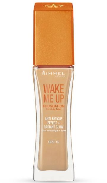 Озаряващ течен фон дьо тен - Rimmel Wake Me Up Foundation — снимка N1