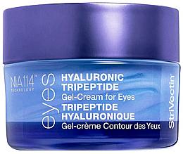 Парфюмерия и Козметика Хиалуронов трипептиден гел-крем за околоочния контур - StriVectin Advanced Hydration Hyaluronic Tripeptide Gel-Cream For Eyes