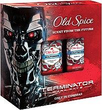 Парфюми, Парфюмерия, козметика Комплект - Old Spice Wolfthorn Terminator (део/150ml + душ гел/250ml)