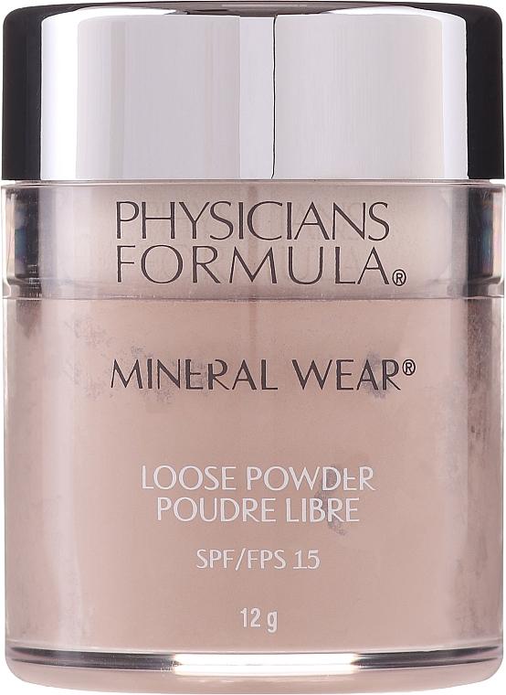 Минерална насипна пудра за лице - Physicians Formula Mineral Wear Loose Powder SPF 16