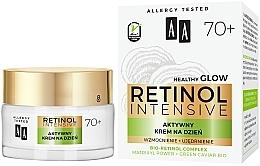 Парфюмерия и Козметика Активно укрепващ дневен крем за лице - AA Retinol Intensive 70+ Cream