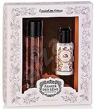 Парфюмерия и Козметика Panier Des Sens Rose - Комплект (парф.вода/50ml + лосион за тяло/50ml)