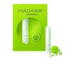 """Парфюми, Парфюмерия, козметика Новогодишен комплект """"Възстановяване"""" - Madara Cosmetics New Year Set Recover (cr/50ml + balm/15ml)"""