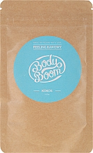 Парфюмерия и Козметика Скраб за тяло с кафе и кокос - BodyBoom Coffee Scrub Coconut