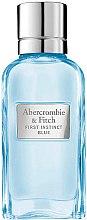 Парфюмерия и Козметика Abercrombie & Fitch First Instinct Blue Women - Парфюмна вода (тестер с капачка)