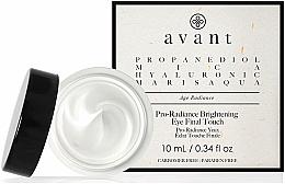 Парфюмерия и Козметика Озаряващ, хидратиращ околоочен крем с марис аква (морска вода) - Avant Skincare Pro-Radiance Brightening Eye Final Touch