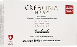 Парфюмерия и Козметика Комплексна терапия против косопад за жени 200 - Crescina Re-Growth HFSC Formula 100%