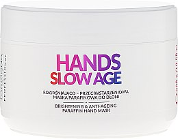 Парфюми, Парфюмерия, козметика Парафинова маска за ръце срещу пигментни петна - Farmona Professional Hands Slow Age Brightening And Anti-ageing Paraffin Hand Mask