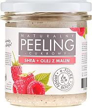 Парфюмерия и Козметика Пилинг за тяло с шеа и малиново масло - E-Fiore Raspberry Body Peeling