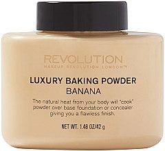 Парфюмерия и Козметика Насипна пудра - Makeup Revolution Luxury Banana Powder