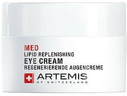 Парфюмерия и Козметика Възстановяващ околоочен крем - Artemis of Switzerland Med Lipid Replenishing Eye Cream